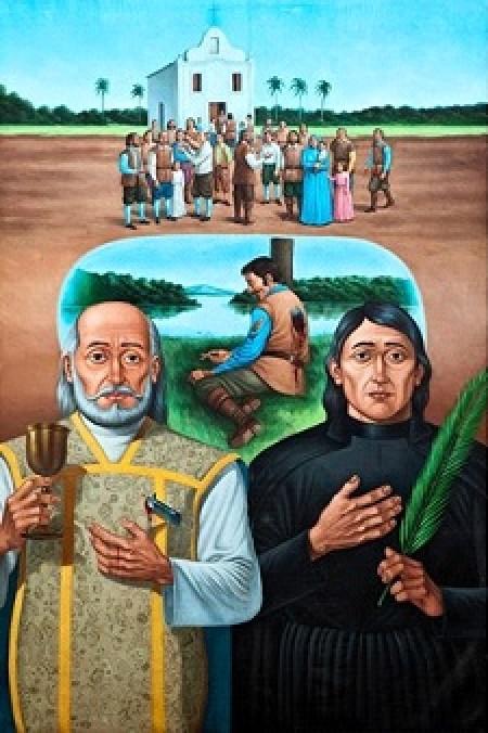 15 de outubro Canonização dos protomártires do Brasil pelo Papa Francisco